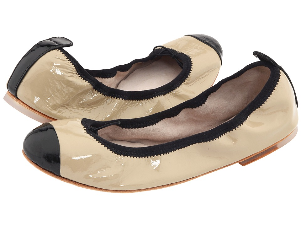 Bloch - Luxury Ballet Flat (Capuccino/Black) Women's Dance Shoes