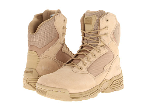 Magnum - Stealth Force 8.0 (Desert Tan) Men's Work Lace-up Boots