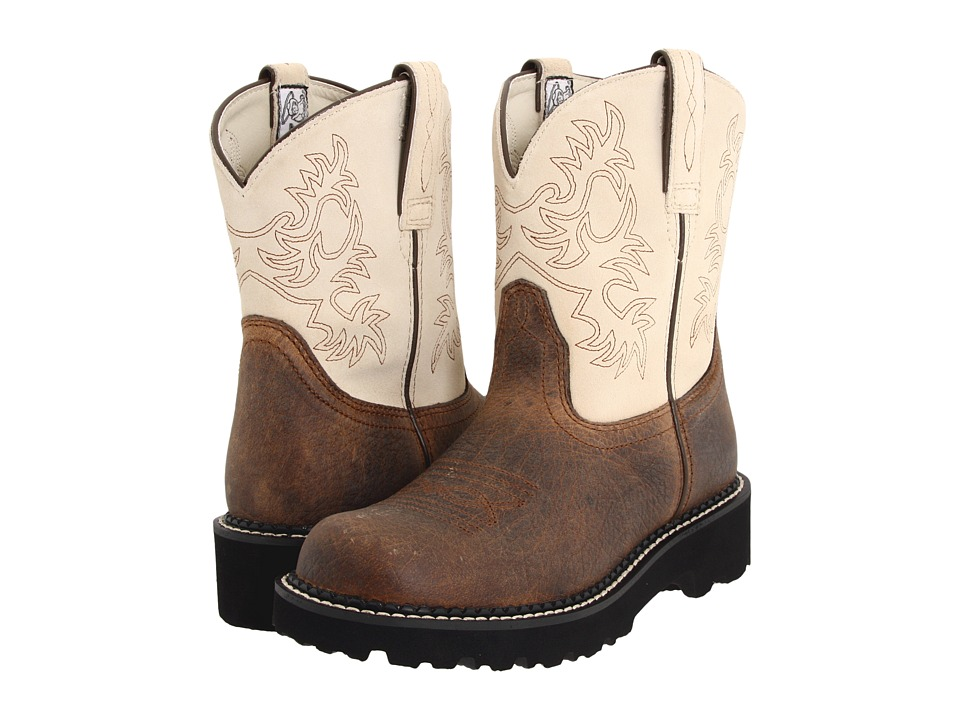Ariat - Fatbaby Sheila (Earth/Bone) Cowboy Boots