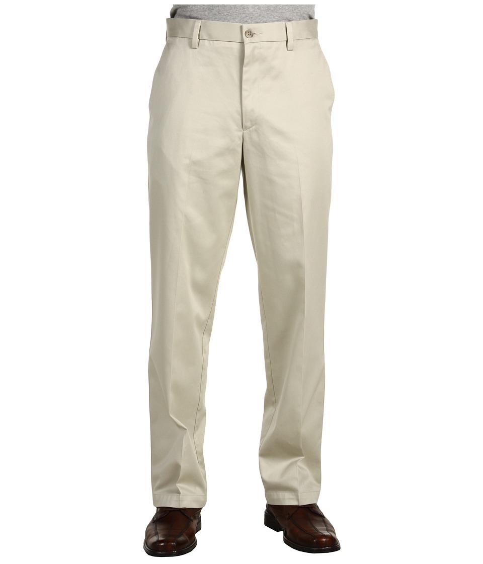 Dockers - Signature Khaki D2 Straight Fit Flat Front (Cloud) Men's Casual Pants