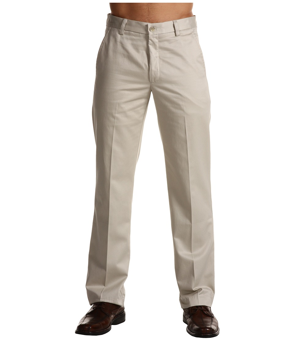 Dockers Men's - Signature Khaki D1 Slim Fit Flat Front (Cloud) Men's Dress Pants