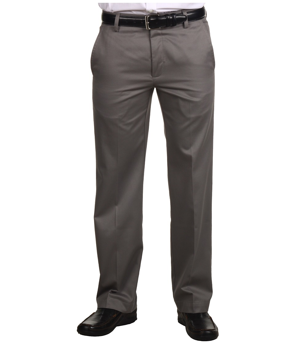 Dockers Men's - Signature Khaki D1 Slim Fit Flat Front (Fog) Men's Dress Pants