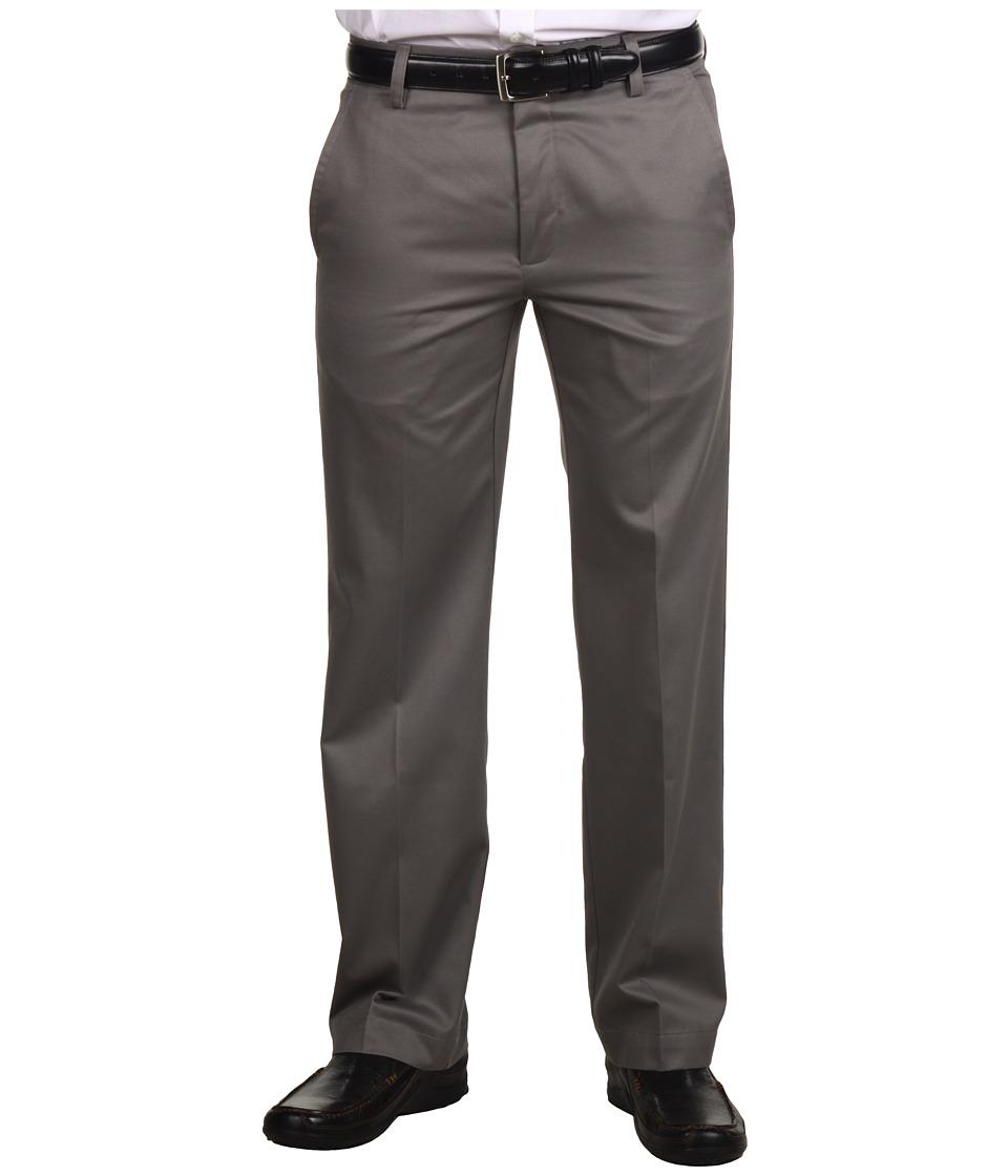 Dockers Men's - Signature Khaki D1 Slim Fit Flat Front (Fog Stretch) Men's Dress Pants