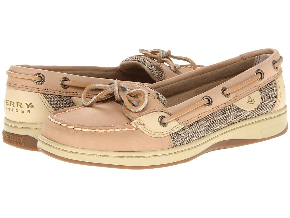 Sperry - Angelfish (Linen/Oat) Women's Slip on Shoes