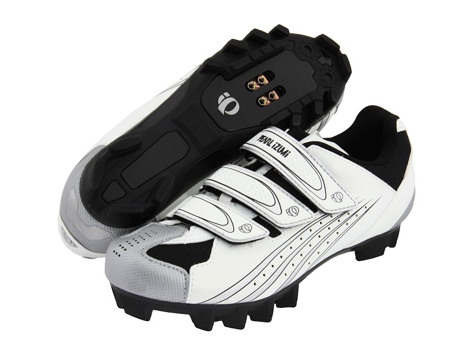 Pearl Izumi - W's Select MTB (White/Silver) Women's Cycling Shoes