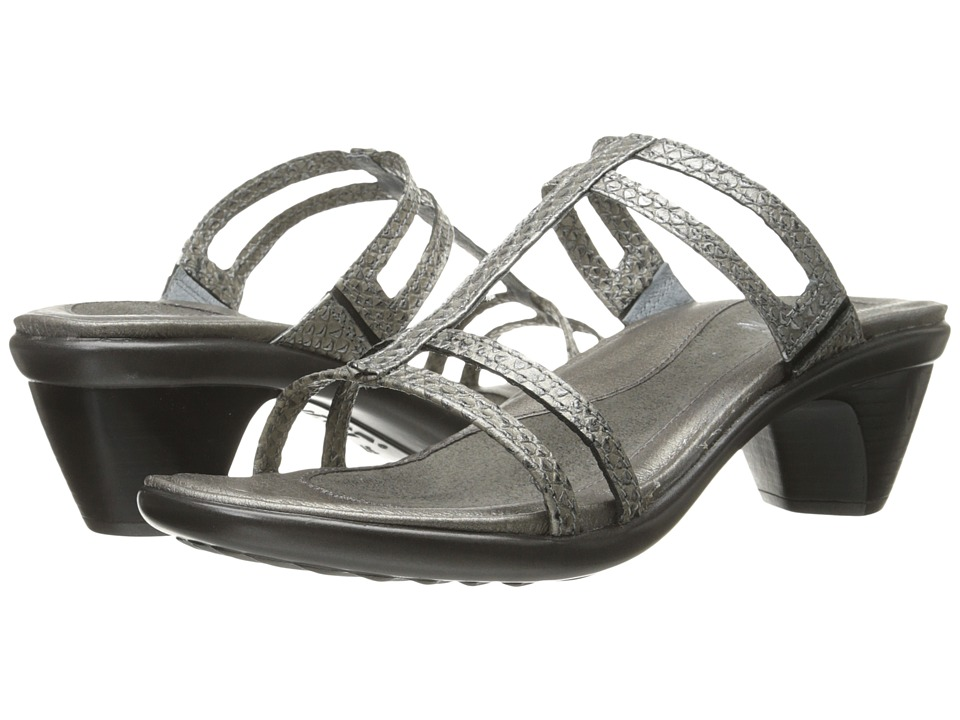 Naot Footwear - Loop (Gray Lizard Leather) Women's Sandals