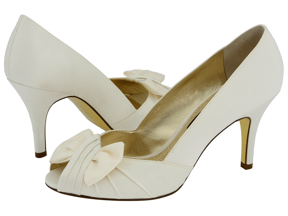 Nina - Forbes (Ivory Luster Satin) Women's Bridal Shoes