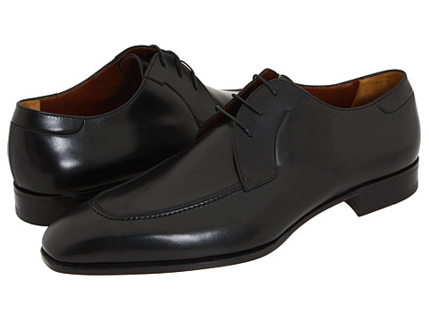 a. testoni - Moc Toe Lace Up Oxford (Calf Nero) Men