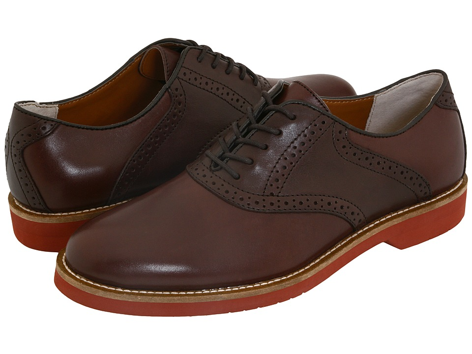 Bass - Burlington (Brown/Dark Brown) Men's Lace up casual Shoes