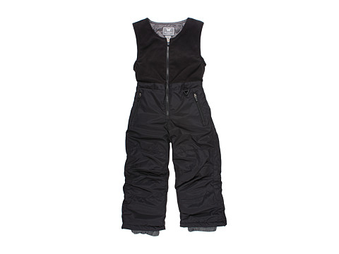 White Sierra - Bib (Little Kids/Big Kids) (Black) Snow Bibs One Piece