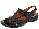 Clarks - Sarasota (Black Croco Patent) - Clarks Shoes