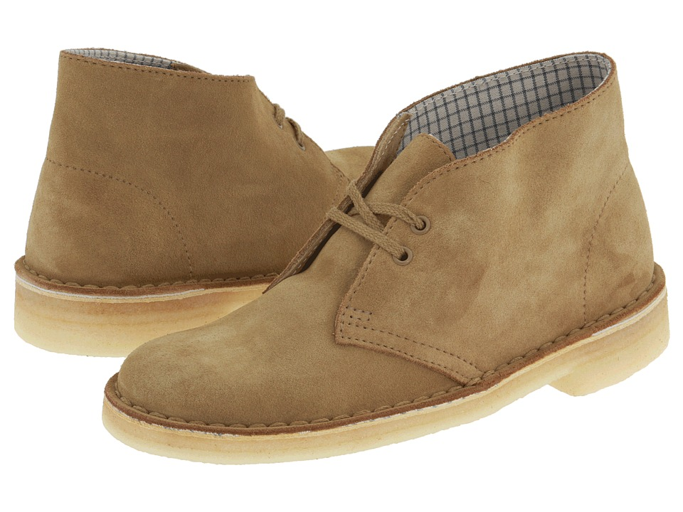 Clarks - Desert Boot (Oakwood Suede) Women's Lace-up Boots
