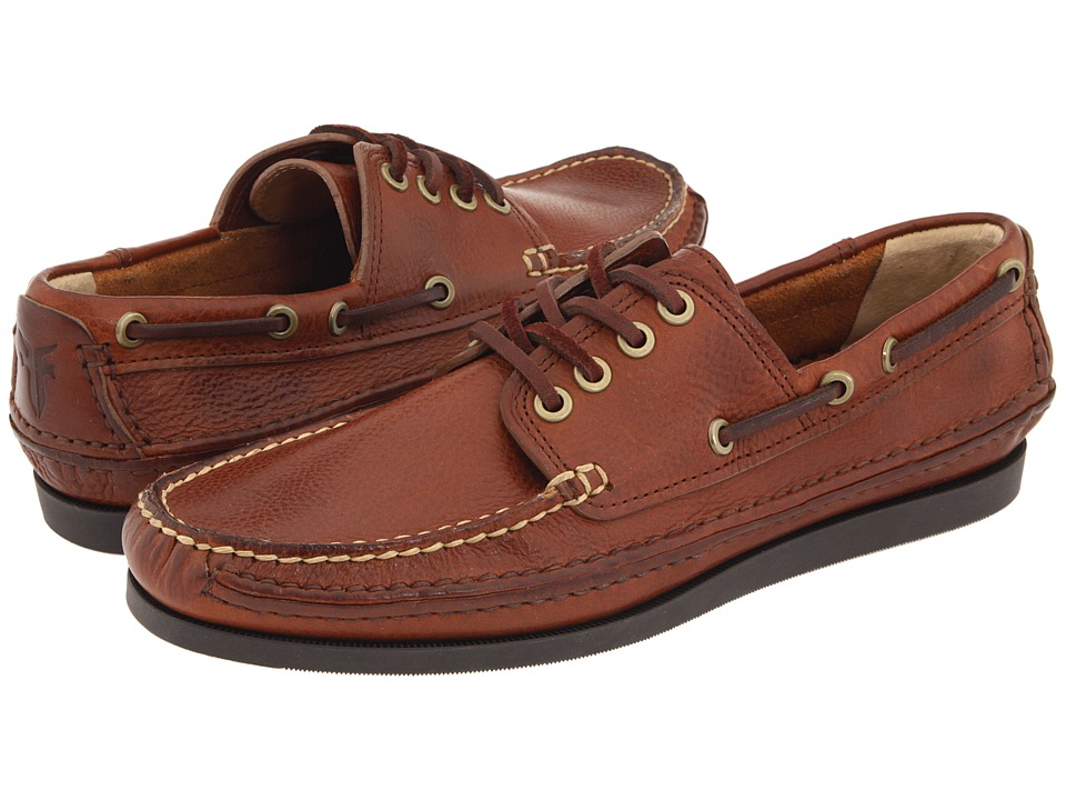 Frye - Mason Camp Moc (Redwood) Men's Lace up casual Shoes