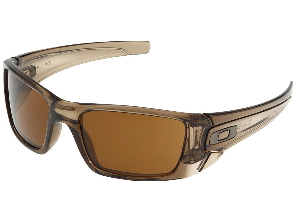 Oakley - Fuel Cell (Polished Brown Smoke/Dark Bronze Lens) Sport Sunglasses