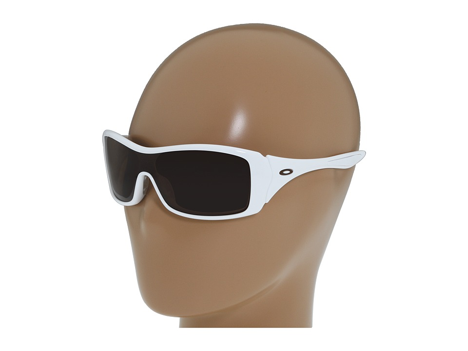 Oakley - Forsake (Polished White/Dark Bronze Lens) Sport Sunglasses