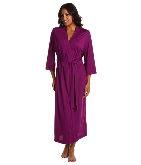Natori - Shangri-La Robe (Purple) Women's Robe