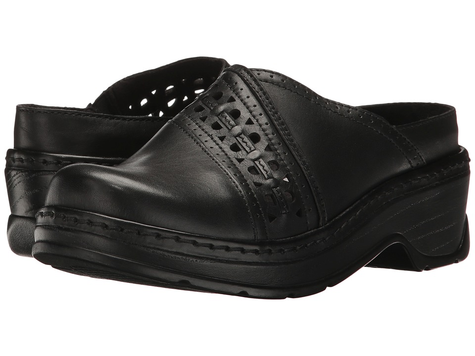 Klogs Footwear - Syracuse (Black Smooth) Women's Clog Shoes