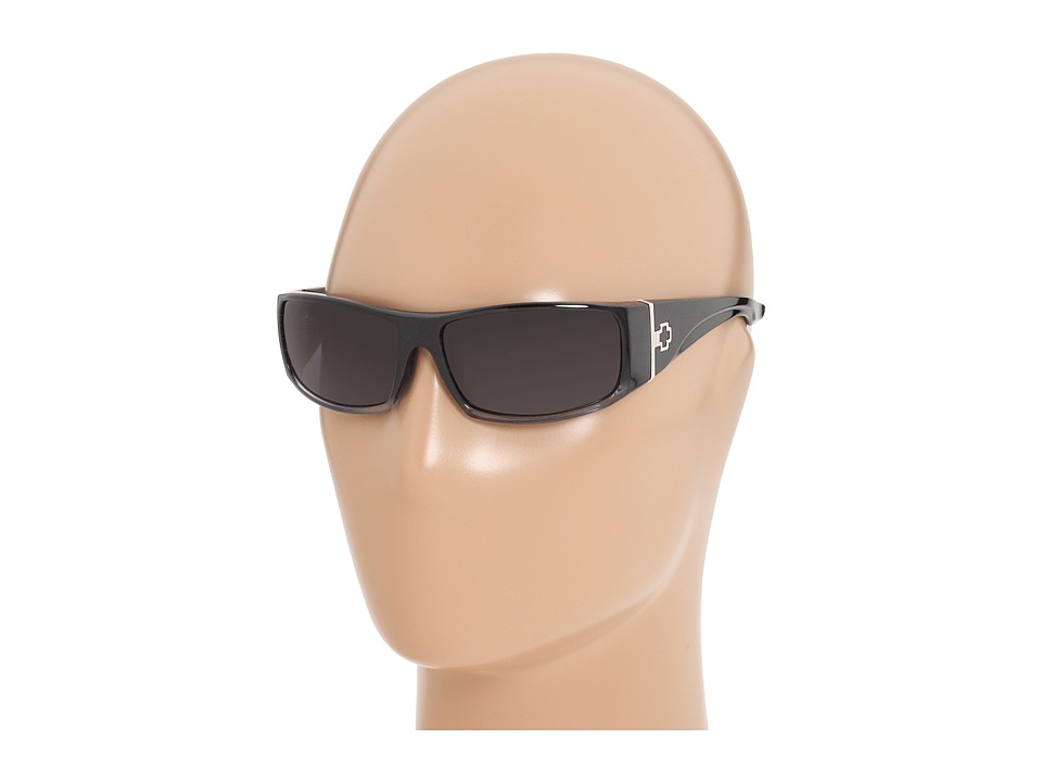 Spy Optic - Cooper XL (Black Fade/Grey Lens) Sport Sunglasses