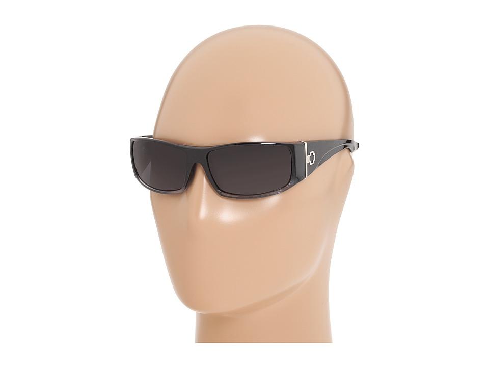 Spy Optic Cooper XL (Black Fade/Grey Lens) Sport Sunglasses