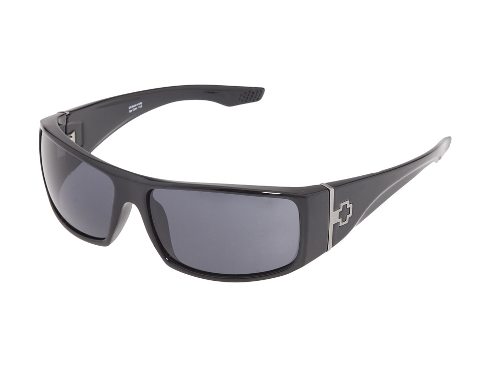 Spy Optic - Cooper XL (Black Shiny/Grey Lens) Sport Sunglasses