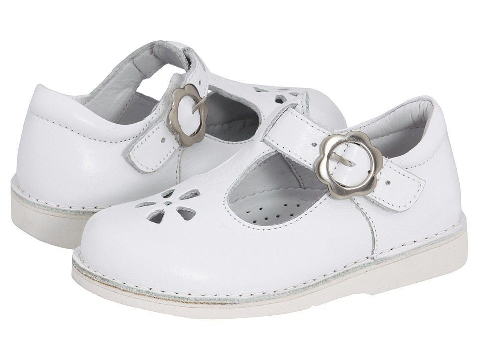 Kid Express - Molly (Toddler/Little Kid/Big Kid) (White Leather) Girls Shoes