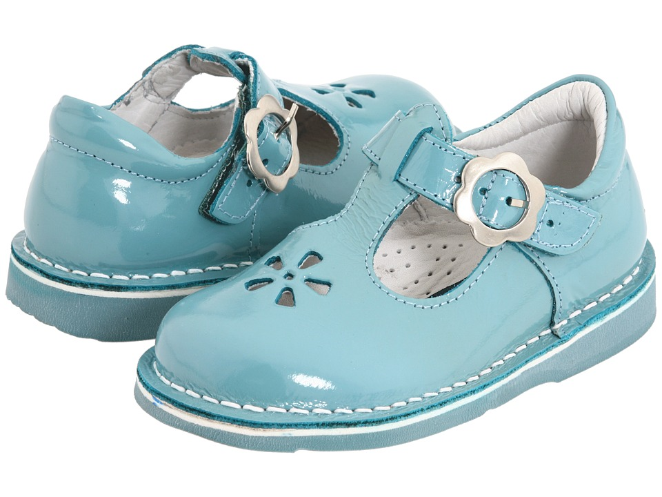 Kid Express - Molly (Toddler/Little Kid/Big Kid) (Turquoise Patent) Girls Shoes