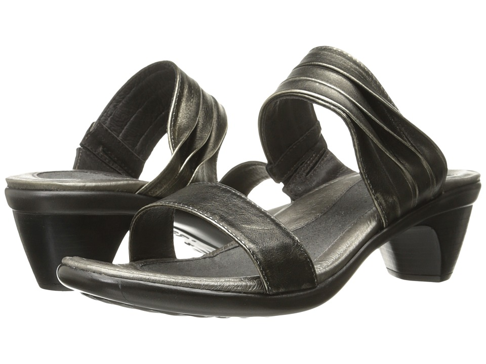 Naot Footwear - Isis (Metal Leather) Women's Slide Shoes