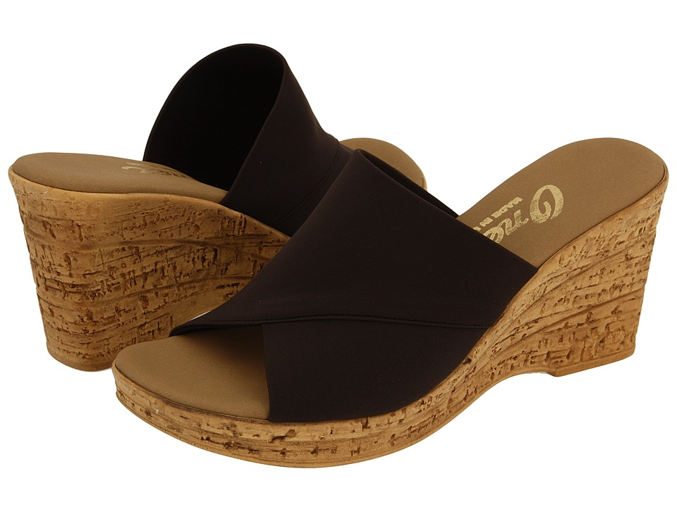 Onex - Christina (Chocolate) Women's Wedge Shoes
