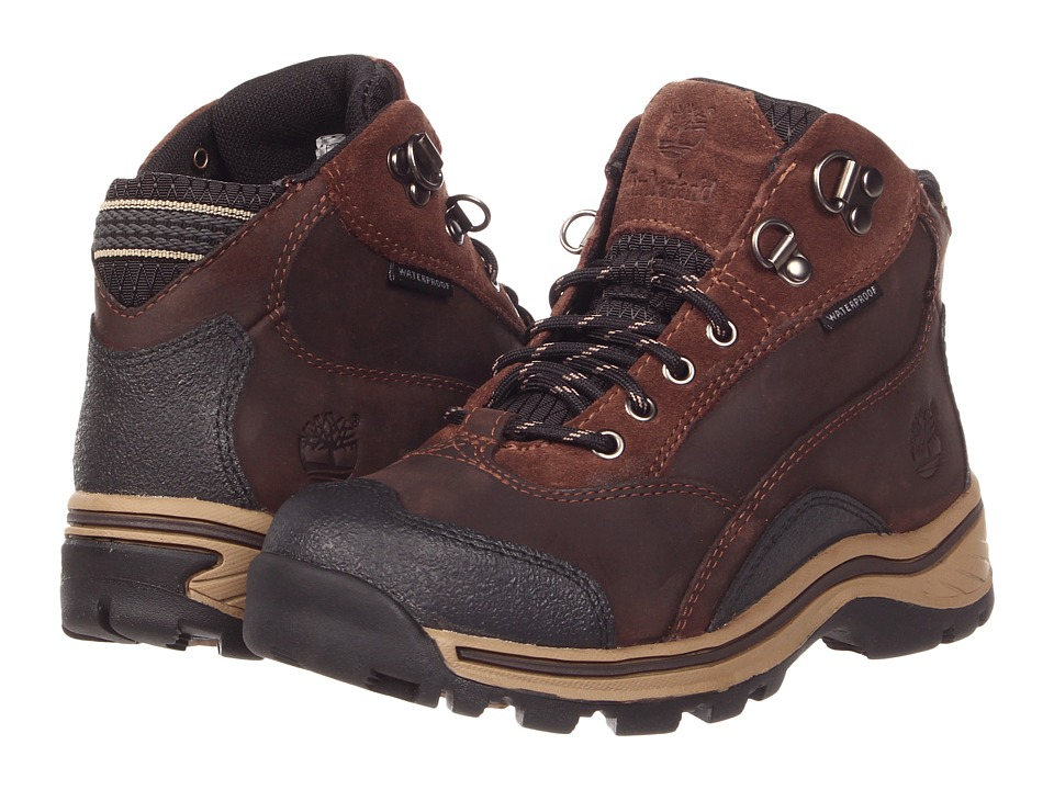 Timberland Kids - Pawtuckaway Lace Hiker (Little Kid) (Brown) Boys Shoes