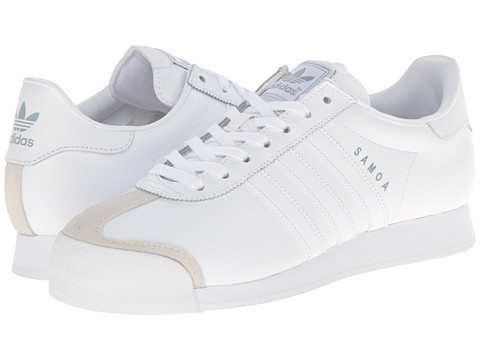 adidas Originals - Samoa (White/Silver) Classic Shoes