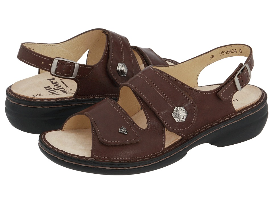 Finn Comfort - Milos - 82560 (Coffee) Women's Sandals
