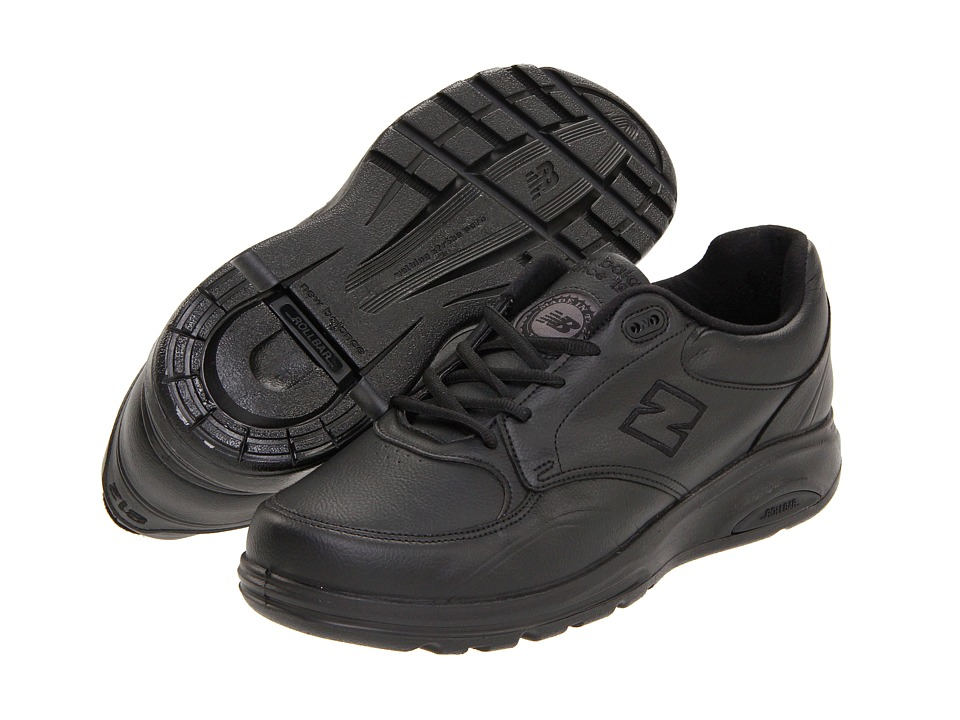 New Balance - MW812 (Black) Men's Walking Shoes