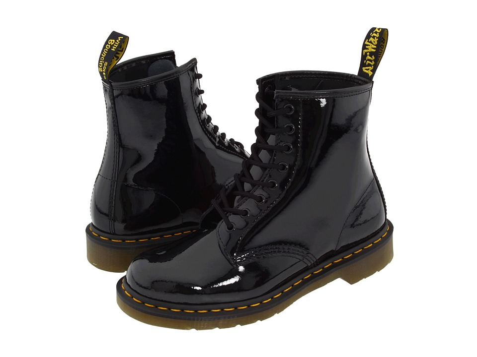 Dr. Martens - 1460 (Black Patent) Lace-up Boots