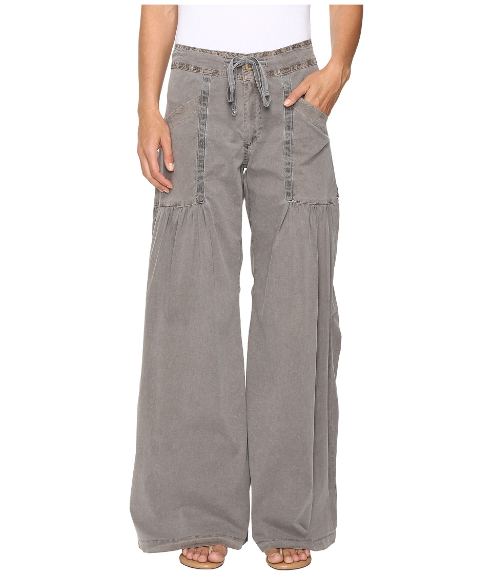 XCVI - Willowy Wide Leg Stretch Poplin Pant (Mink) Women's Casual Pants