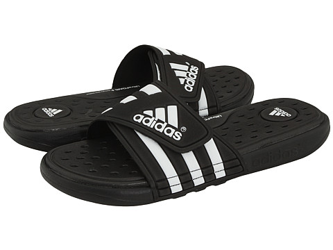 b9bcd5ea7 UPC 884896901180 - adidas adissage SC (Black Running White Black ...