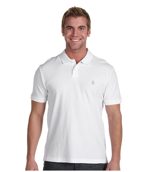Original Penguin - The Daddy-O (Pure White) Men's Short Sleeve Pullover