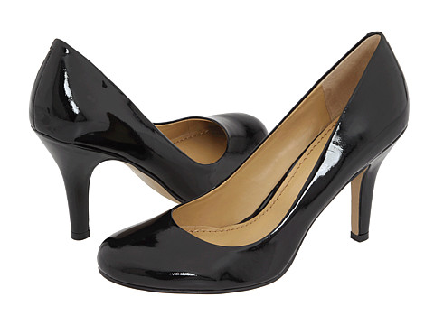 Nine West - Ambitious (Black Patent) High Heels
