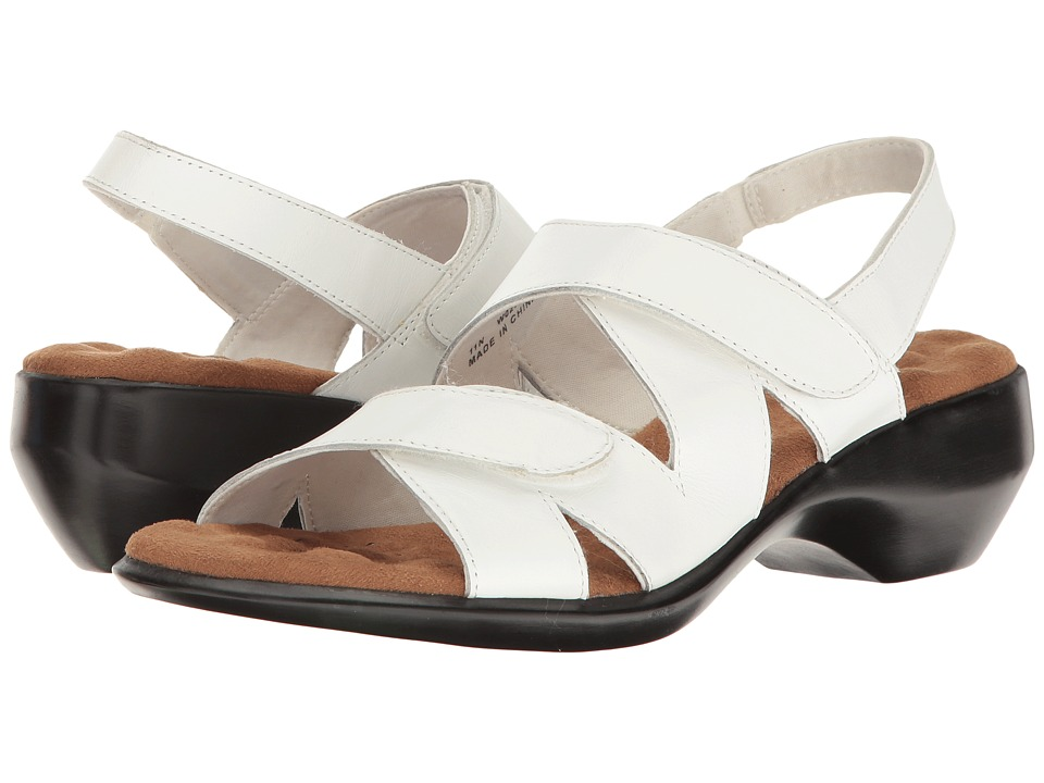 Walking Cradles - Lark (White Leather) Women's Sandals