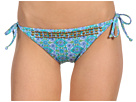 Ella Moss Mosaic Tie Side Pant (Blue)