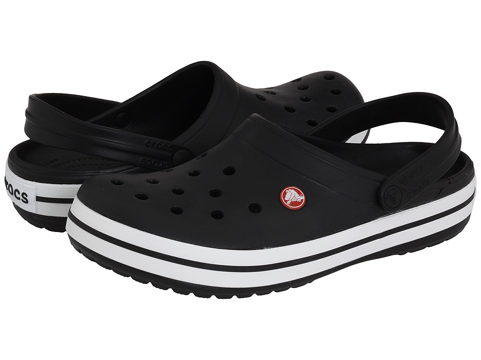 Crocs - Crocband (Black) Clog Shoes