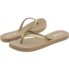 SALE! $12.99 - Save $14 on Reef Stargazer (Taupe Champagne) Footwear - 51.89% OFF $27.00