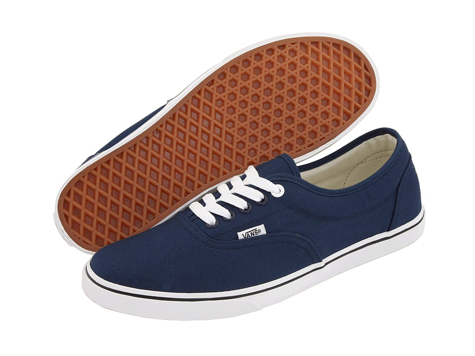 Vans - LPE (Navy/True White) Skate Shoes