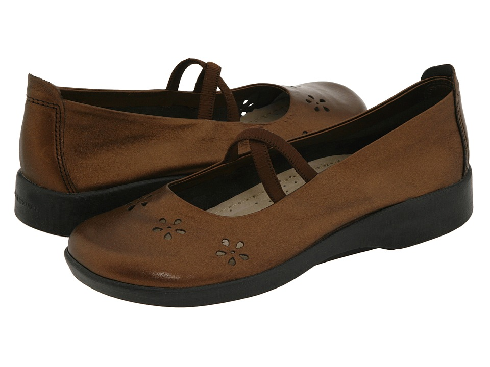 Arcopedico - Flower (Bronze Leather) Women's Maryjane Shoes