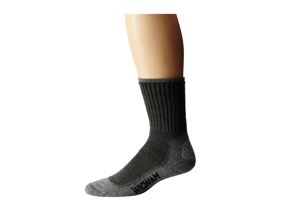 Wigwam - Hiking/Outdoor Pro 1-Pair Pack (Charcoal) Crew Cut Socks Shoes