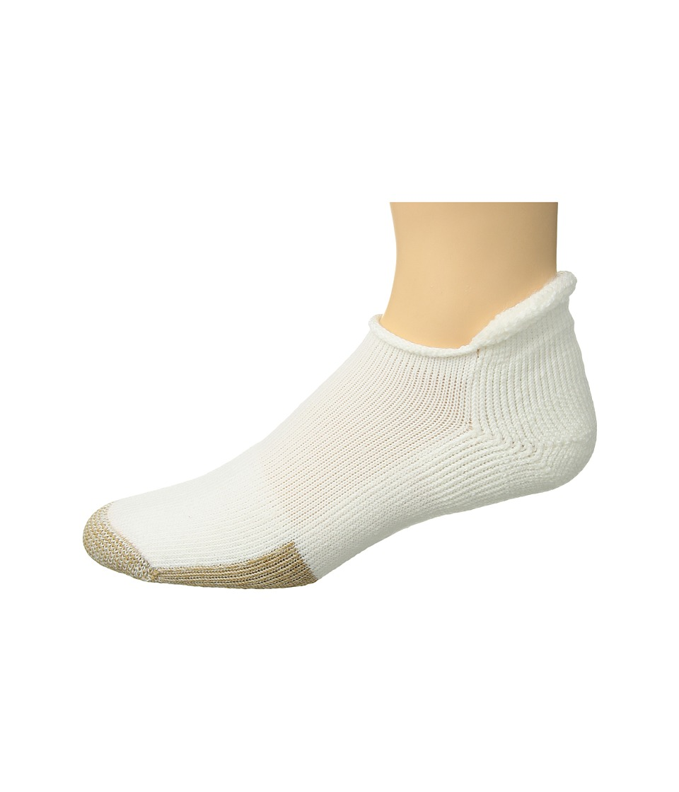 Thorlos - Tennis Rolltop Single (White) Low Cut Socks Shoes