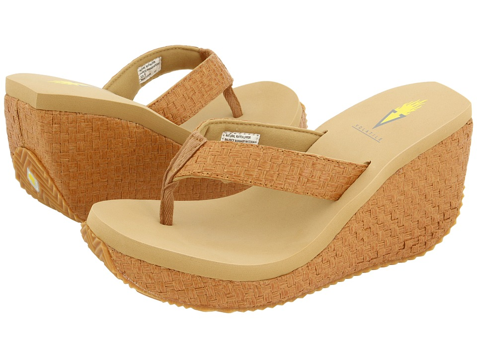 VOLATILE - Cha-ching (Tan) Women's Sandals