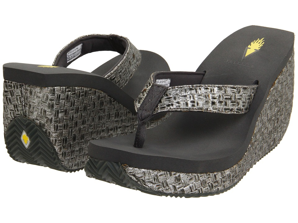 VOLATILE - Cha-ching (Pewter) Women's Sandals