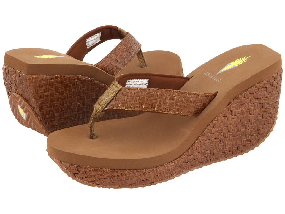 VOLATILE - Cha-ching (Bronze) Women's Sandals