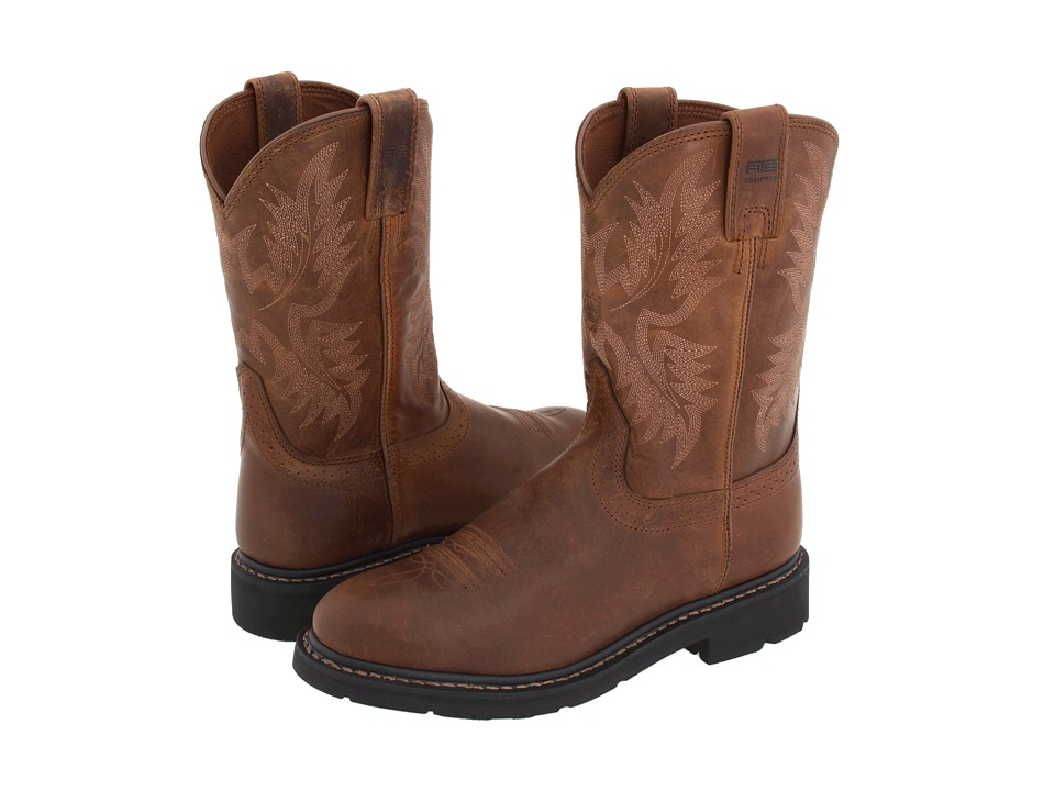 Ariat - Sierra Western (Dusted Brown) Cowboy Boots