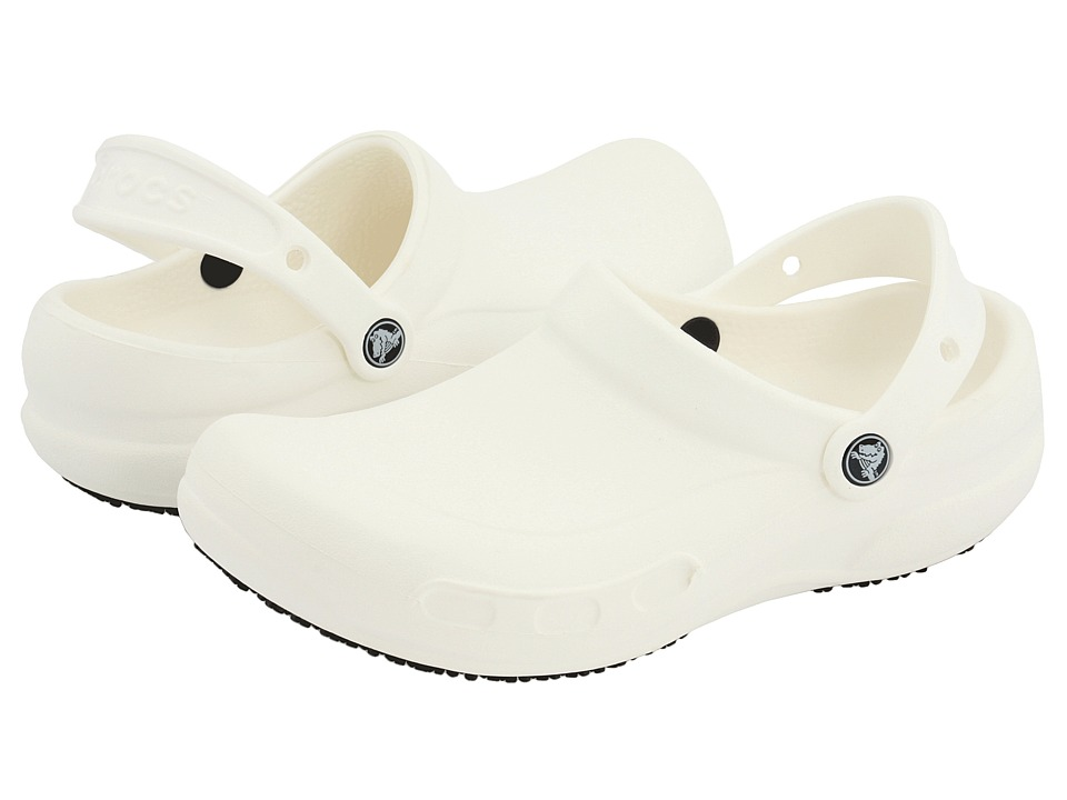 Crocs - Bistro (Unisex) (White) Clog Shoes